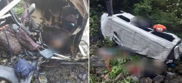 Photo of В Грузии погибли 17 туристов, их автобус сорвался в пропасть
