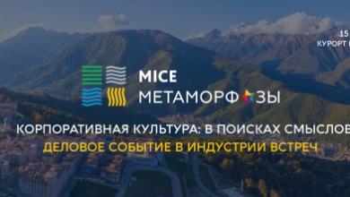 Photo of MICE Метаморфозы — деловое событие в индустрии встреч — состоится 15-16 октября в Сочи