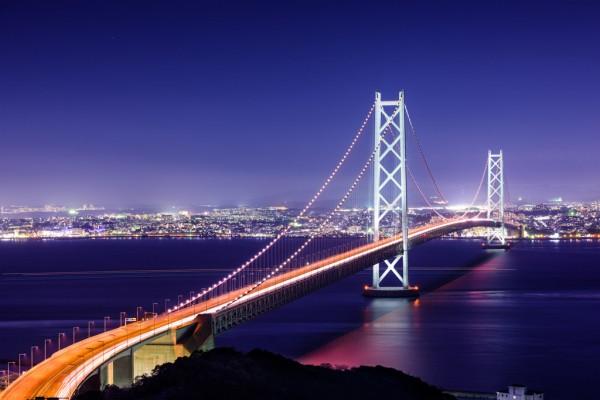 Photo of Японское чудо: висячий мост, способный 7 раз опоясать Землю